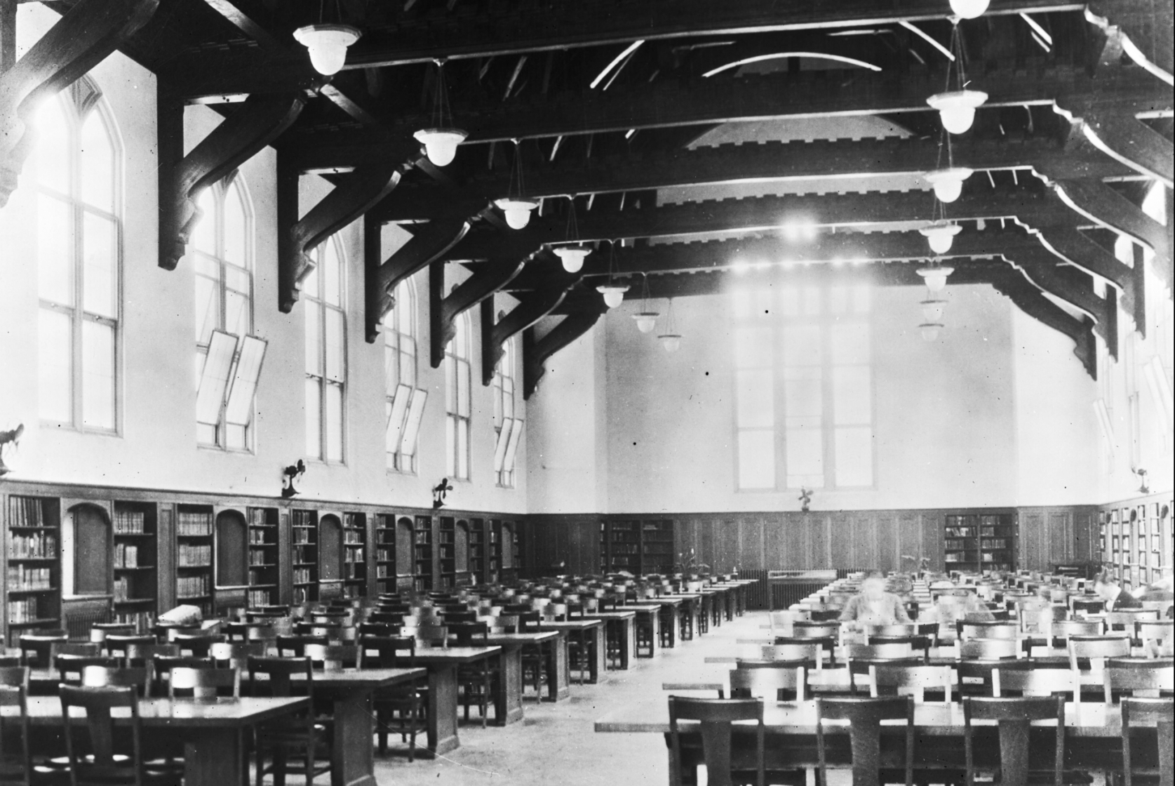 Readers in the Grand Reading Room