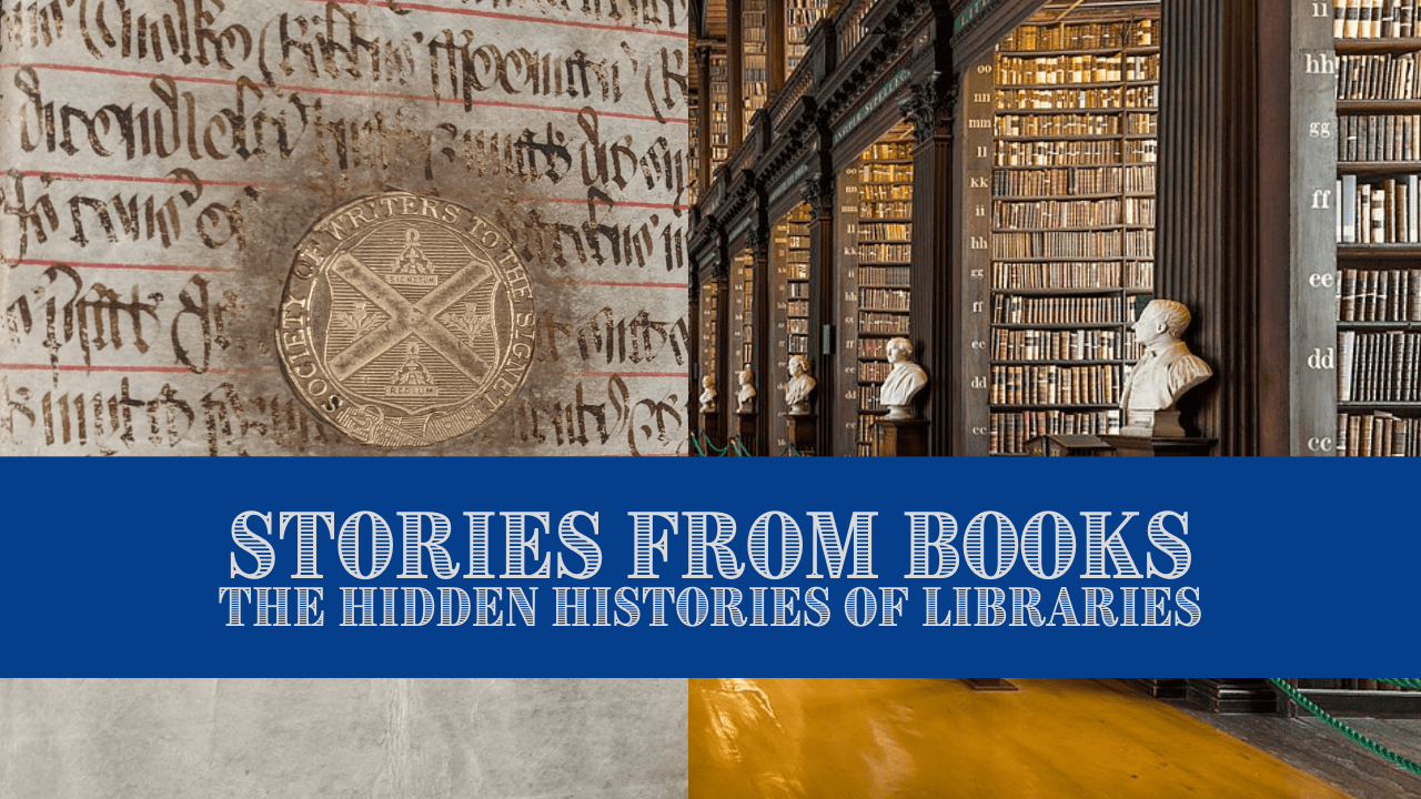 """Title Card for the Video """"Stories from Books"""""""